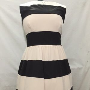 Versatile B Darlin Striped Dress